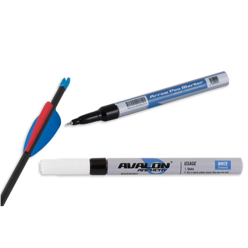 ARROW MARKER PEN 0.7mm WHITE