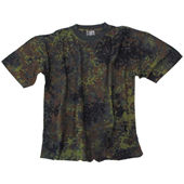 US T-Shirt  flecktarn